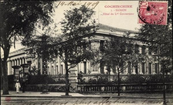 Hô Chi Minh-Ville - Cp Saigon Cochinchine Vietnam, Hôtel du Lt. Gouverneur