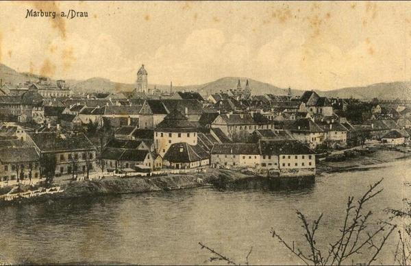 Maribor - Slovenia-----Maribor-----old postcard