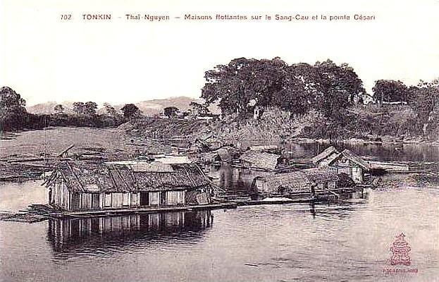 Thaï-Nguyen -  maisons flottantes