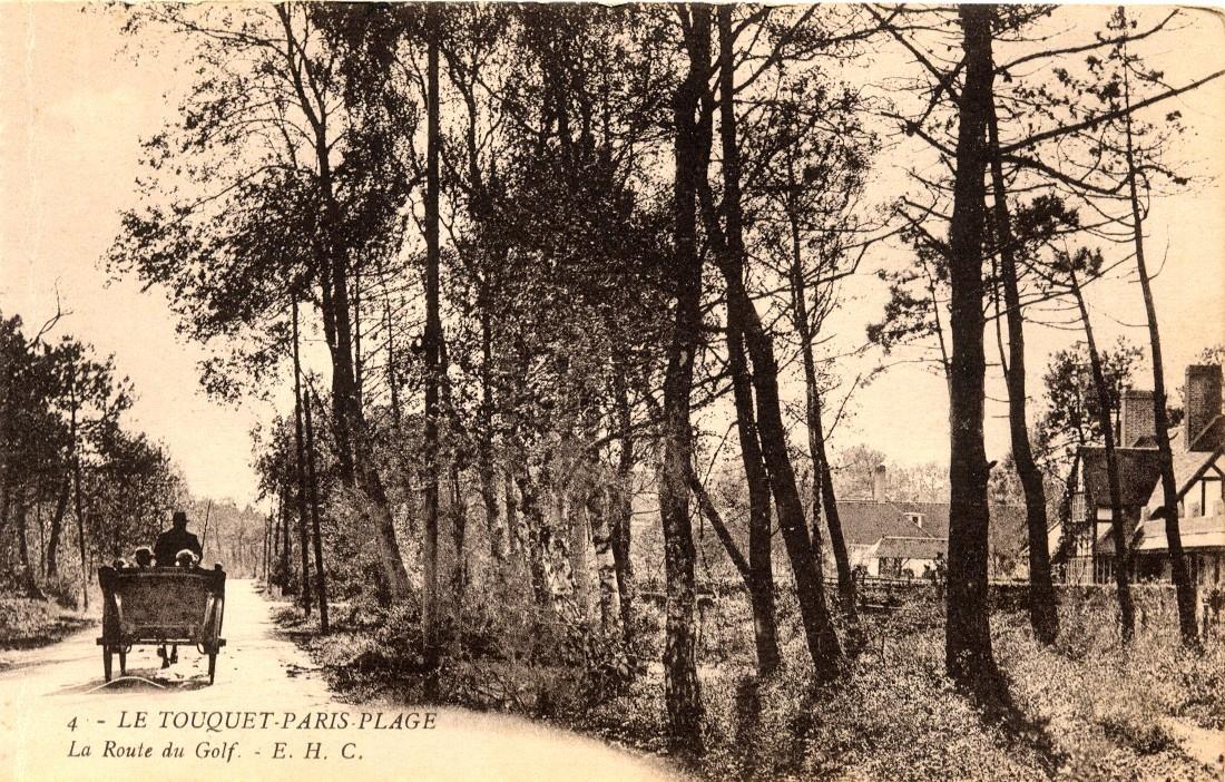 Le Touquet-Paris-Plage - La Route du Golf.