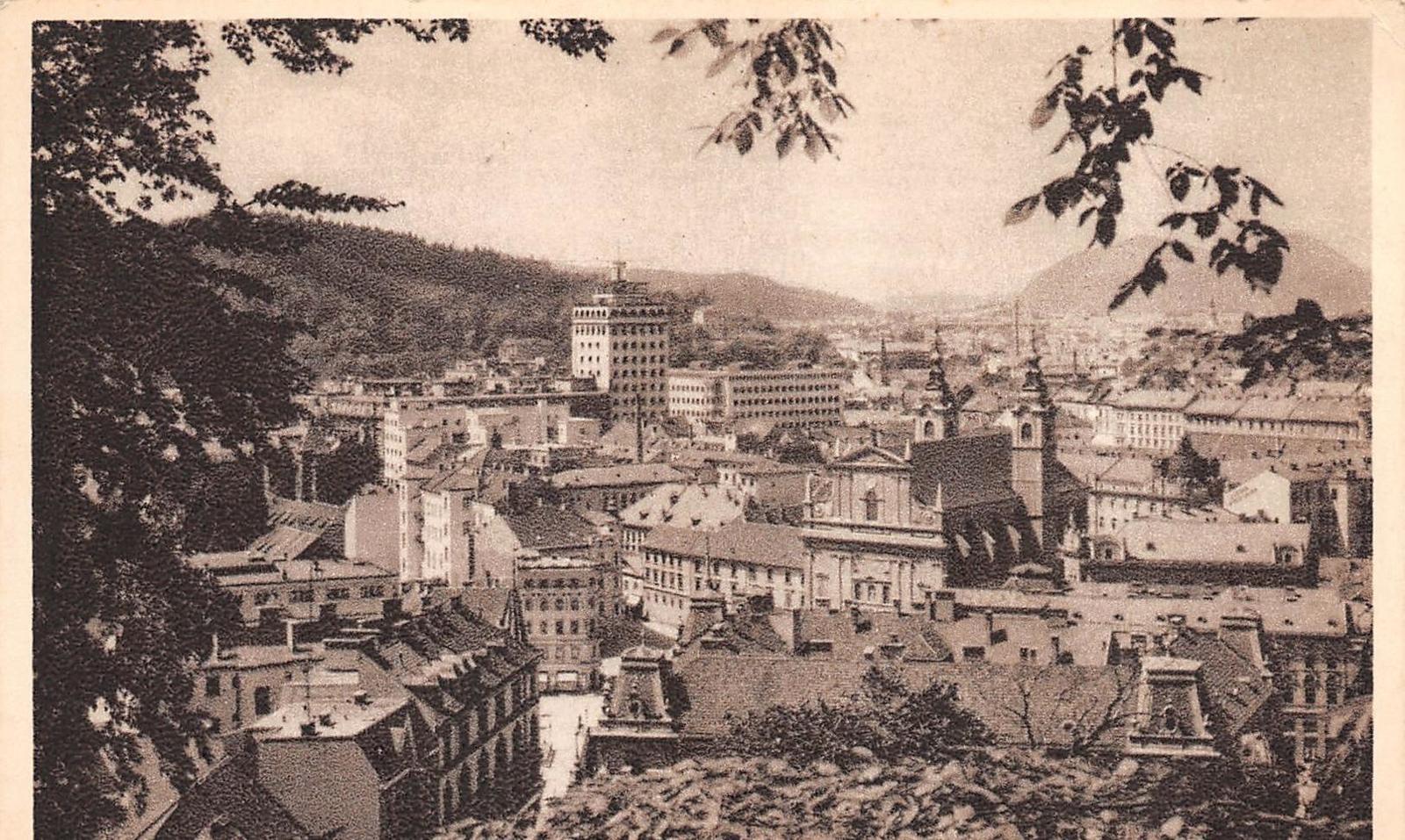 Ljubljana -  Ljubliana (Slovénie) - Vue générale
