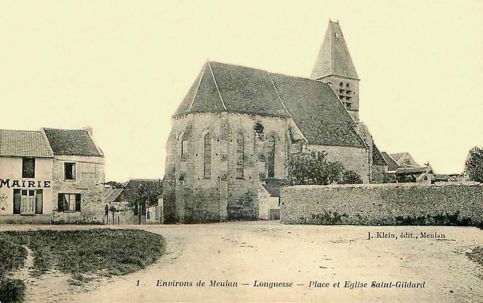 Longuesse - Longuesse - Eglise Saint-Gilard.