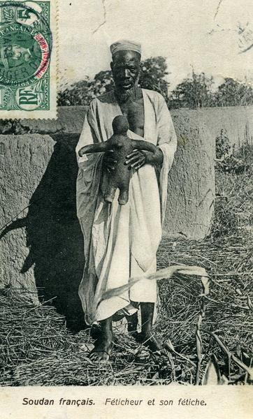 Bamako - Féticheur et son fétiche
