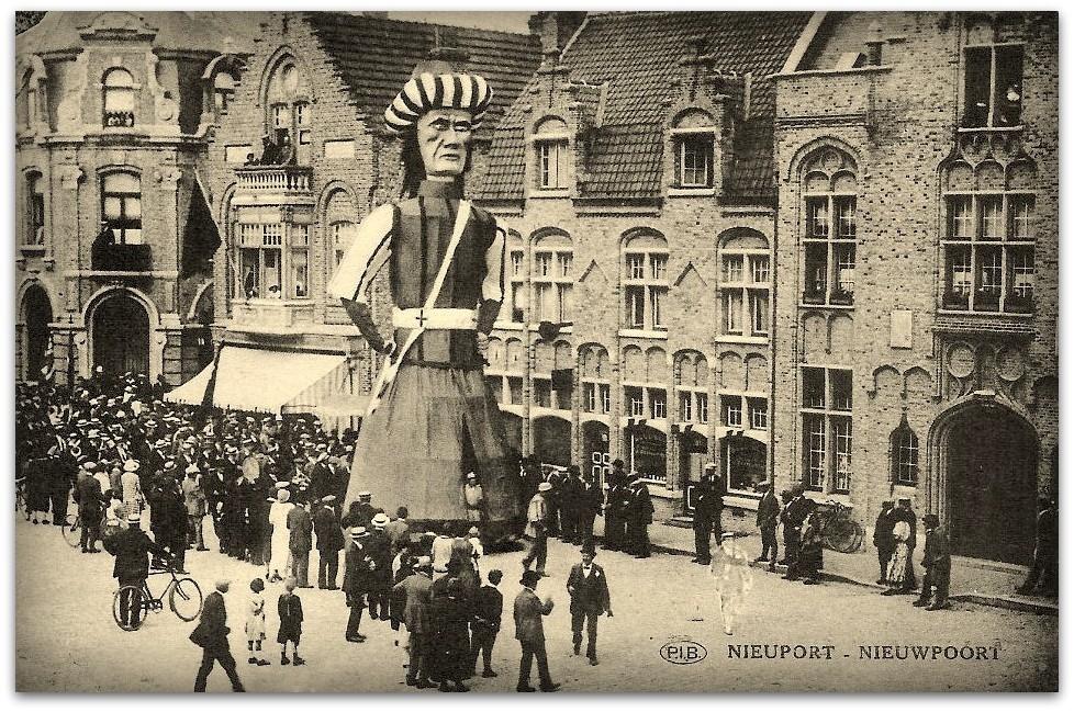 """Nieuwpoort - Nieuwpoort """" De reus Jan Turpin """""""