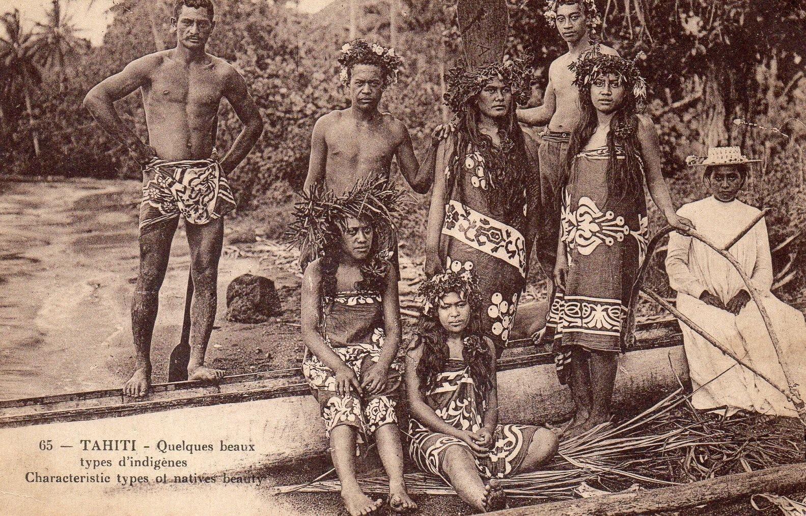 Papete -  Arrivée de la famille de SALLES Alexandre à Tahiti.