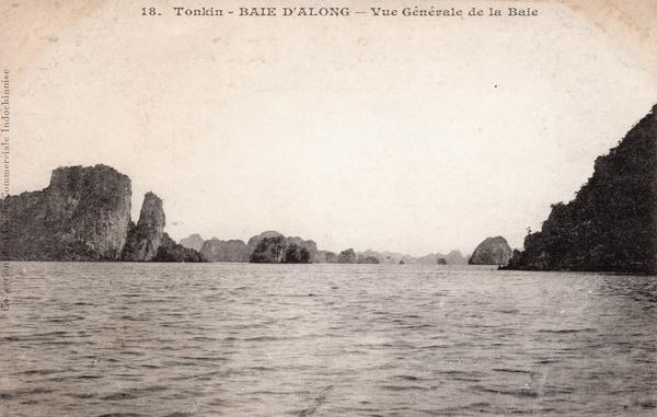 Baie d'Along - TONKIN-Baie d'Along-Vue générale de la Baie