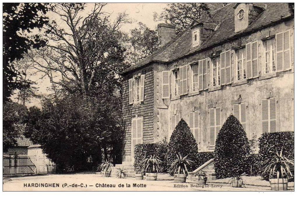 Hardinghen -  Chateau de La Motte