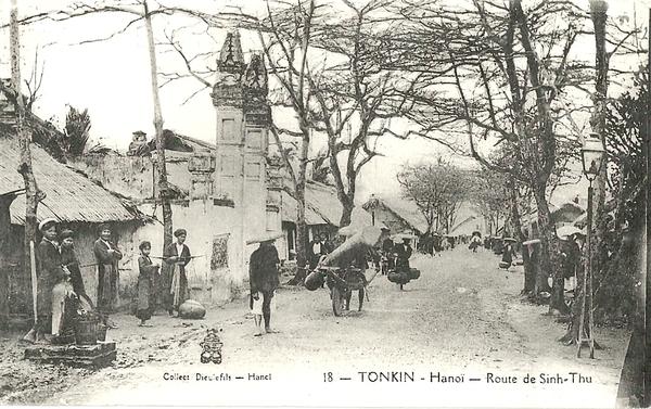 Hanoï - Tonkin-Route de Sinh-Thu