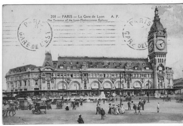 Paris - la gare de Lyon