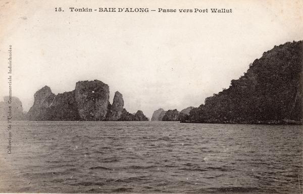 Baie d'Along - TONKIN-Baie d'Along-Passe vers Port Wallut