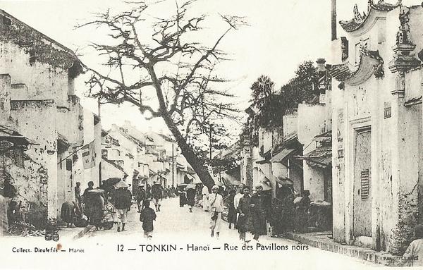 Hanoï - Tonkin-Rue des Pavillons Noirs