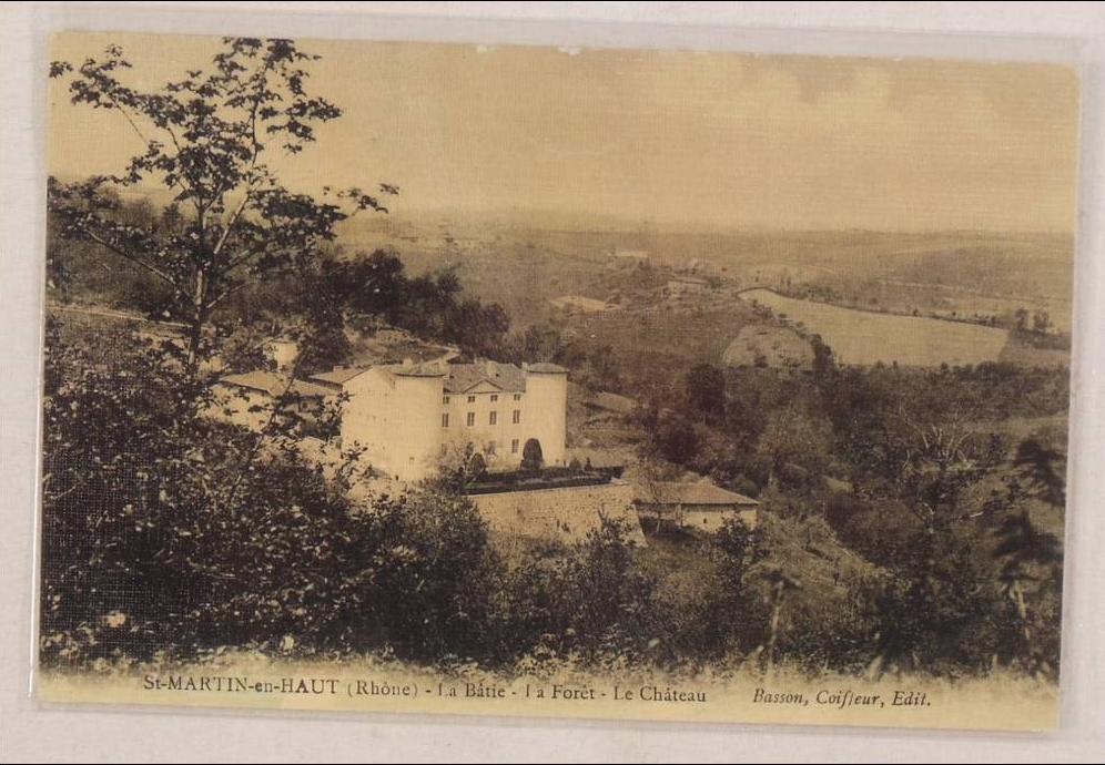 Saint-Martin-en-Haut - saint martin en haut la batie