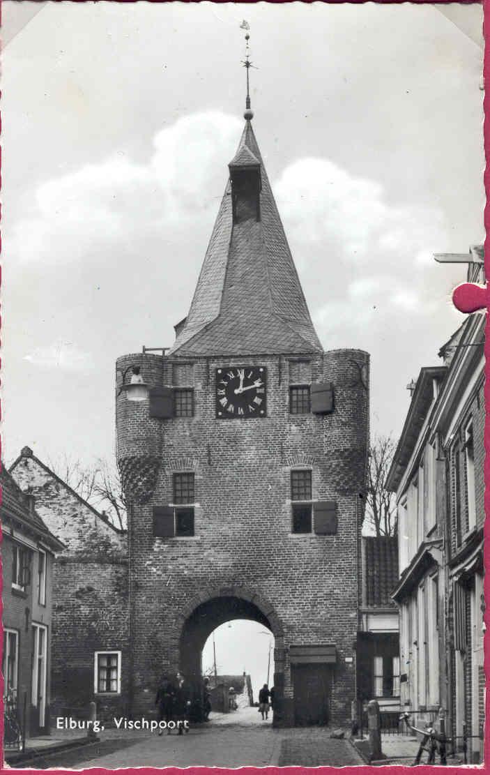 Elburg - Vischpoort, omstr 1960