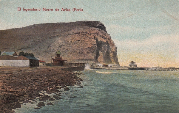 Arica - El legendario Morro de Arica (Perú).