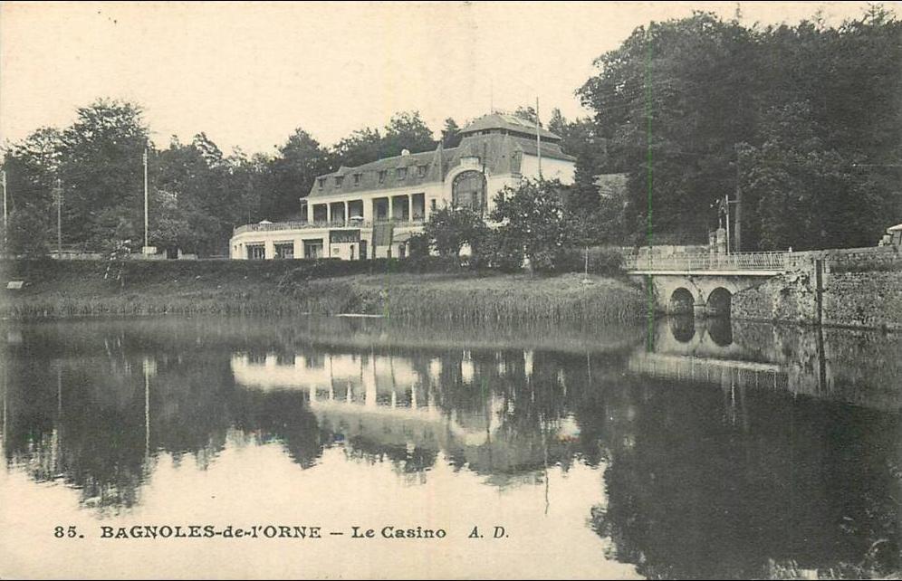 Bagnoles de l'Orne - 61 BAGNOLES-DE-L'ORNE LE CASINO - Carte