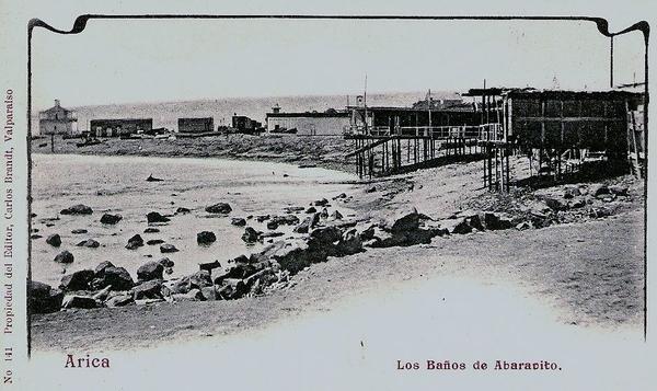 Arica - Los baños de Abaravito.
