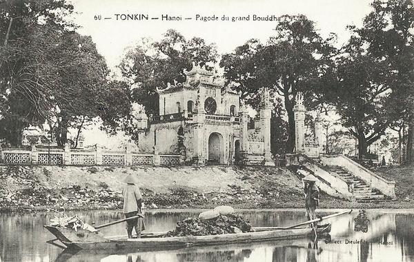 Hanoï - Tonkin-Pagode du Grand Bouddha