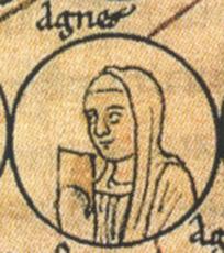 Agnès (De Mâcon) de BOURGOGNE-COMTÉ
