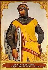 Alain IV (Fergent) de CORNOUAILLE