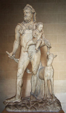 Hercule (Alcide) de MYTHOLOGIE GRECQUE