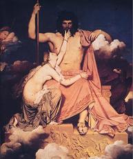 Thétis (Néréide) de MYTHOLOGIE GRECQUE