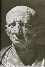 Caton L'Ancien (Marcus Porcius Cato) de ROME gens PORCII CATONES