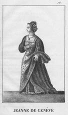 Jeanne de GENÈVE