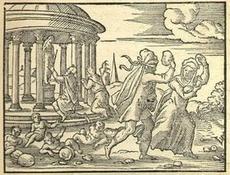 Deucalion (Déluge) de MYTHOLOGIE GRECQUE