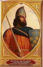 Hugues (Le Grand) CAPETIENS de VERMANDOIS