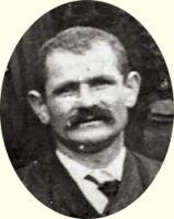 Emmanuel Corbes au mariage de son frère en 1912