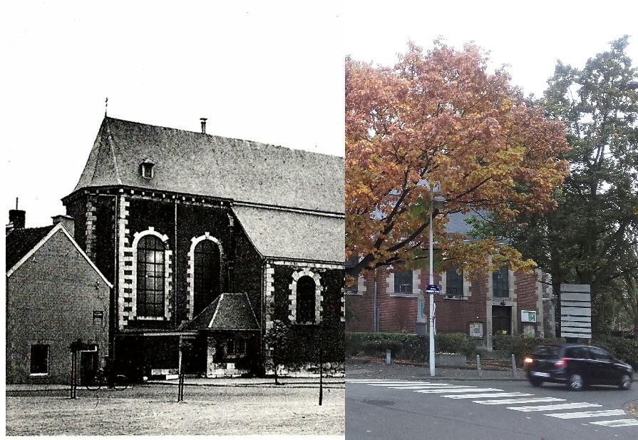 Chênée - Eglise Saint Pierre de Chênée où eurent lieu de nombreux mariages, baptêmes, communions et aussi enterrements pour la famille Thonnard.