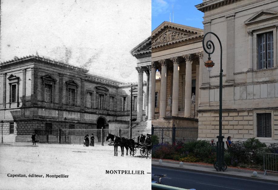 Montpellier - Le Palais de Justice