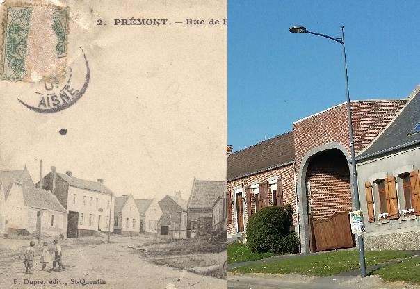 Prémont - Vue du village.