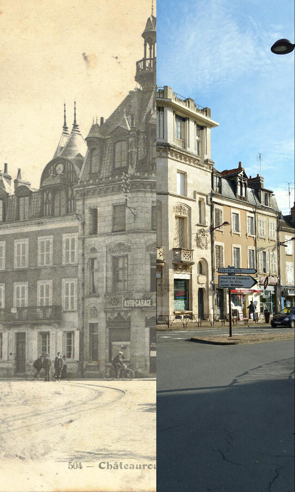 Châteauroux - Place Gambrtta_1908