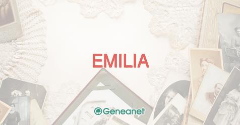 Discover the origin of the name EMILIA - Geneanet