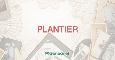 Découvrez l'origine du nom PLANTIER
