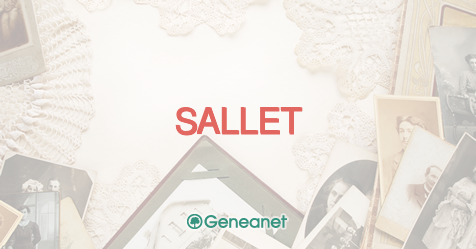 Discover the origin of the name SALLET - Geneanet