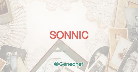 Découvrez l'origine du nom SONNIC
