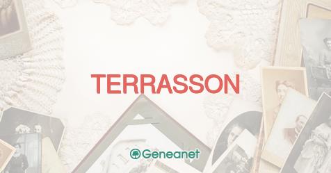 Découvrez L Origine Du Nom Terrasson Geneanet